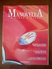 Manovella Ruote e Raggi n°1 1994 - Maserati A6G Zagato Ferrari 330 GT  [P33]