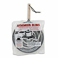 Simmer Ring Burner Heat Diffuser for Gas or Electric Stove, 8.25 Inches