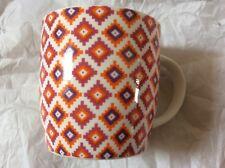 Kitchen Craft Fine Bone China Moroccan Diamonds Barrel Mug BRAND NEW