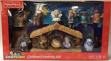 Fisher Price Little People Children's Nativity Set Christmas Jesus Manger Scene
