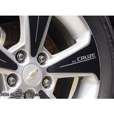 "Carbon Tuning Wheel Mask decal Sticker full set 17"" for GM Chevrolet Cruze 2009+"