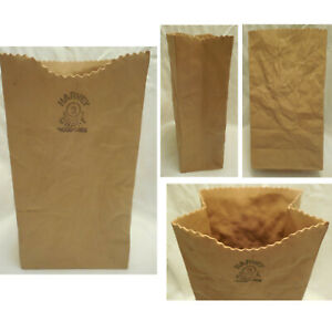 Michael Harvey Craft #2 Brown Paper Bag Sack Ceramic Art Pottery Vase Canada