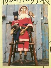 Pattern Santa Claus Doll & Toy Soldier Doll & Horse Uncut Hill Kountry Kreations