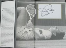 Jimmy Connors SIGNED The Outsider Book 2013 AUTOGRAPHED MCENROE BORG FEDERER