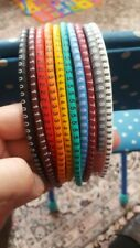 Cable Marker Number Wire Tag 0 To 9 For Cable 500pcs Colored 15m2 To 3mm2 Ec 0