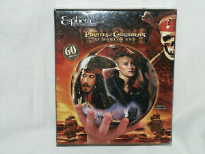 Complete Esphera 360 3-D Plastic Puzzle Ball Pirates of the Caribbean Worlds End