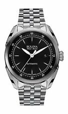 Bulova Accu Swiss Men's 63B193 Tellaro Swiss Automatic Black Dial 42.5 mm Watch