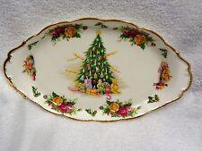 Royal Albert  Old Country Roses Christmas Magic Handled Tray