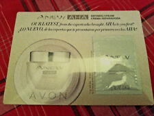 Avon Anew AHA Refining Cream Samples (5) Alpha Hydroxy Antioxidants Sealed New!