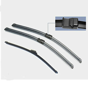 Wiper blade windscreen wipers for SKODA OCTAVIA HATCH 2009 - 2013 FRONT + REAR