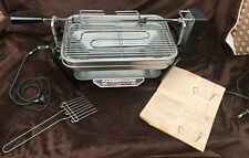 VINTAGE Farberware Open Hearth Electric Indoor Broiler Rotisserie BBQ Grill 450A