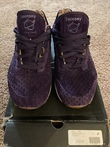 Play Cloths x Saucony Shadow 5000 Strange Fruit Purple Men US 9 Used Great con
