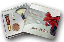 JANE IREDALE Glimmer Gift Box Set w/ Lips + Champagne Gold Dust + Fan Brush