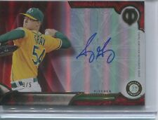 2016 TOPPS TRIBUTE SONNY GRAY AUTOGRAPH 3/5 OAKLAND ATHLETICS