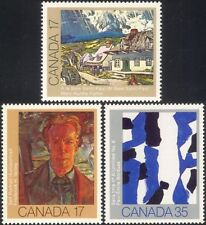 Canada 1981 Canadian Art/Artists/Painting/Painters/People 3v set (n45463)