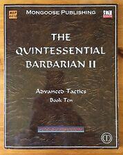 Quintessence du BARBARIAN II: Advanced Tactics-d20-MGP4410-WOTC