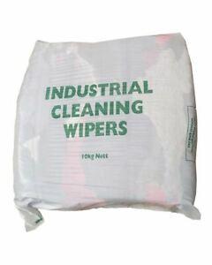 20Kg Bags of Rags Mixed Material Colour Engineer Garage Workshop Industrial Rag