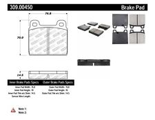 Disc Brake Pad Set Front Stoptech 309.00450