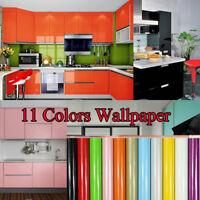 NEW Waterproof Self Adhesive Kitchen Backsplash Cabinet Wall Sticker Home Decor