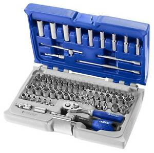 """Expert By Facom E030707 1/4""""Dr 73 Piece Socket and Accessory Set Metric/Imperial"""