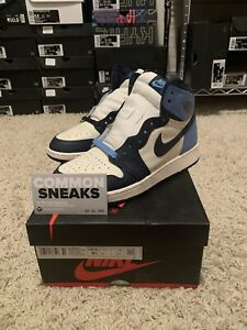 Air Jordan 1 Obsidian Retro High OG Size GS 5.5Y 575441 140 - USED - 100% REAL!