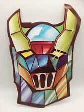 Vintage Halloween Mask Paper Card ROBOT Transformers / Voltron 1980s