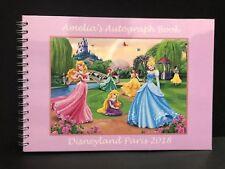 Personalised Disney Princess Autograph Book
