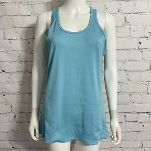 Under Armour Women's Tank Top 2XL Teal Mesh Accent Racer Back New
