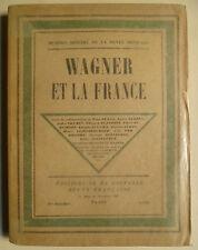Wagner Et La France, Richard Wagner, Richard Wagner musique, Musique France