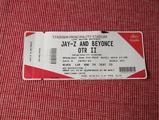 JAY-Z AND BEYONCE used tickets X1,6TH JUNE 2018,PRINCIPALITY STADIUM,CARDIFF,(2)
