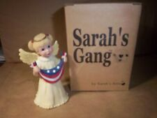 "Sarah's Attic ""Sarah's Gang"" Usa girl Angel ""Flutter"" Patriotic 2001"