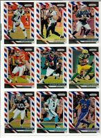 2018 Panini Prizm Football RED WHITE BLUE EXCLUSIVE You Pick RC ROOKIE RODGERS++