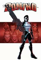 DOMINO #1 BALDEON VARIANT (1:25) NM 2018 NEW MUTANTS DEADPOOL