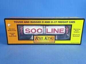MTH RAILKING 30-7386 SOO LINE MODERN TANK CAR. NEW!!