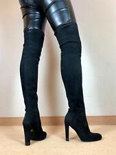 Hohe High Heels Stiefel Buffalo Damen Männer Boots EU42 UK8 US11 12,5cm Absatz