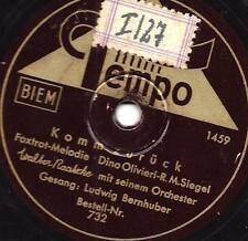 Ludwig Bernauer: torna indietro-J 'attendrai (Dino Olivieri-la barca)