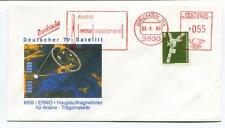 1989 Deutscher TVSatellit MBB/ERNO Druscksache Ariane Bremen Deutsche Bundespost