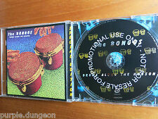 Tam tam-Drums along the Hudson CD promo Cooking vinyl cookcd 389 promo
