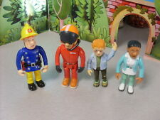 FIREMAN SAM  FIGURES FROM SERIES 1 SAM  NORMAN  FLOOD  TOM     NEW