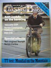 Classic Bike Magazine. No. 45. September, 1983. TT test Mondial on the Mountain.