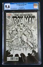 Invincible Iron Man #600 Remastered Sketch Edition CGC 9.6 2138757007