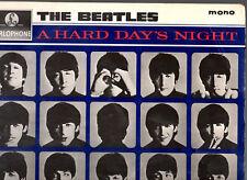 "THE BEATLES.A HARD DAY'S NIGHT.UK ""2ND PRESS"" LP & INN/CO/SL (MATRIX;3N/3N).VG+"