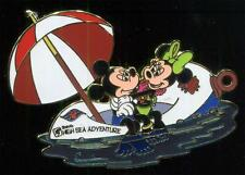 DCL Stitch's High Sea Adventure Mickey & Minnie's Boat of Bliss Disney Pin 41590