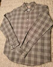 Large gray /white Merona Mens Dress Shirt