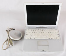 "Apple iBook G3 (M6497, 2001), w Power Cord, 12.1"" Screen, Tested and Works"