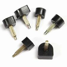 2PCS Black High Heel Shoe Dowel Stiletto Repair Replacement Tips Taps Pins Lifts