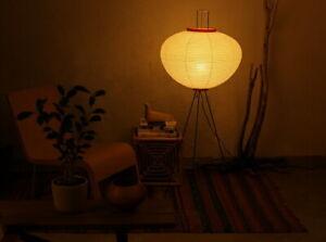 ISAMU Noguchi AKARI Lantern 10A Floor Lamps Handcraft Japanese style Authentic