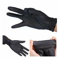 Black Nitrile Powder and Latex Free Disposable 100 Gloves per Box SMALL SIZE