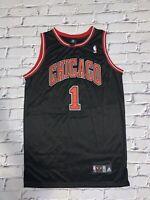 NBA CHICAGO BULLS DERRICK ROSE AUTHENTIC JERSEY SZ 52