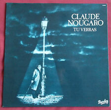 CLAUDE NOUGARO LP ORIG FR TU VERRAS